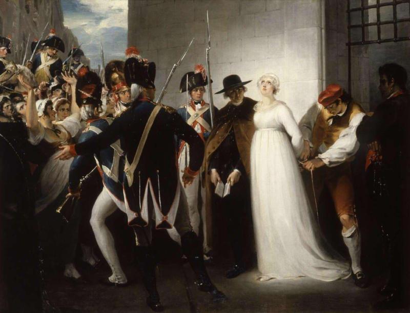 L'exécution de Marie-Antoinette le 16 octobre 1793 Dup2_h10