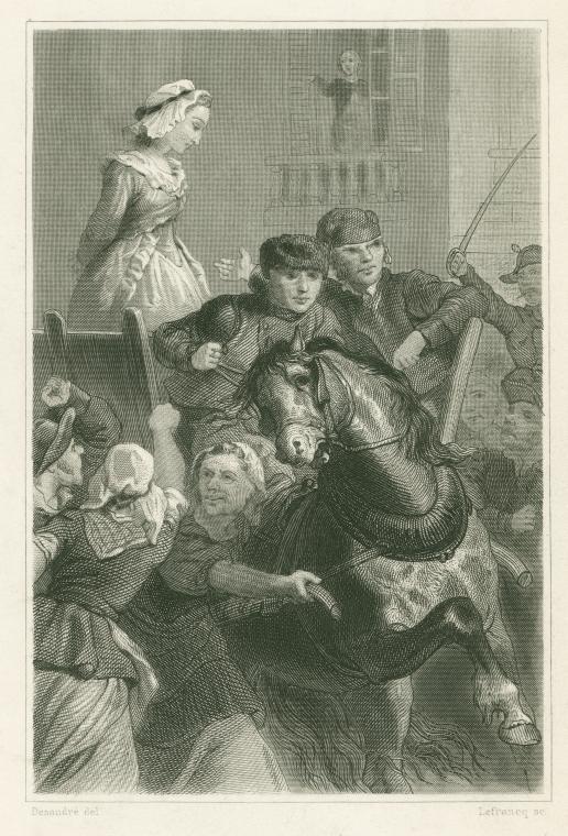 Marie Antoinette  conduite au supplice - Page 2 Execut10