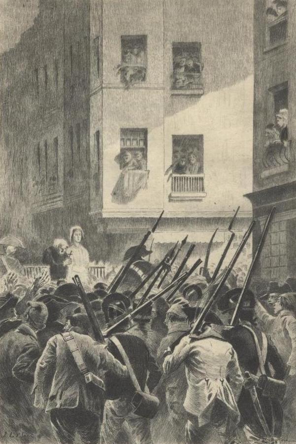 16 octobre - L'exécution de Marie-Antoinette le 16 octobre 1793 Guillo10