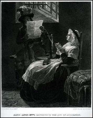 La Conciergerie : Marie-Antoinette dans sa cellule. Img18610