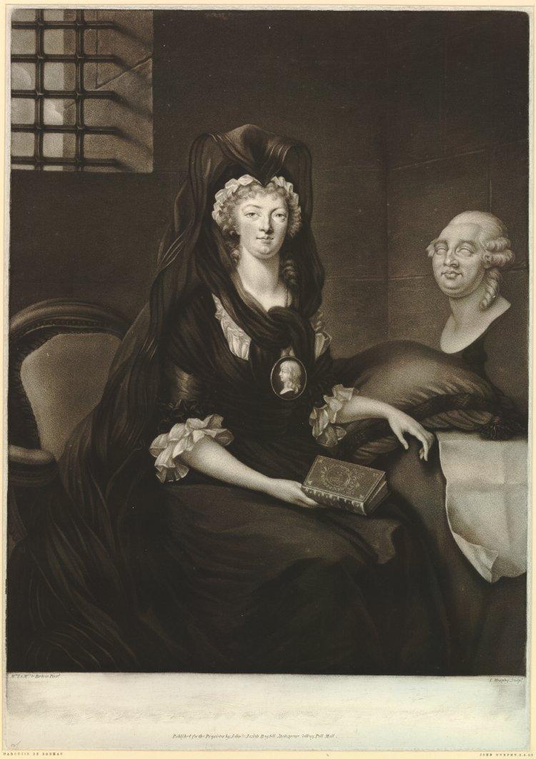 La Conciergerie : Marie-Antoinette dans sa cellule. John_m10