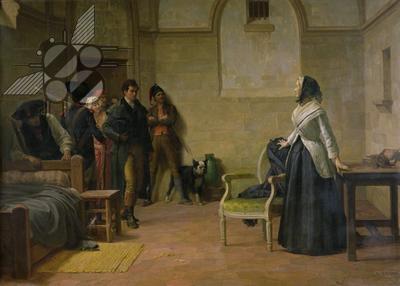 La Conciergerie : Marie-Antoinette dans sa cellule. Louis_19