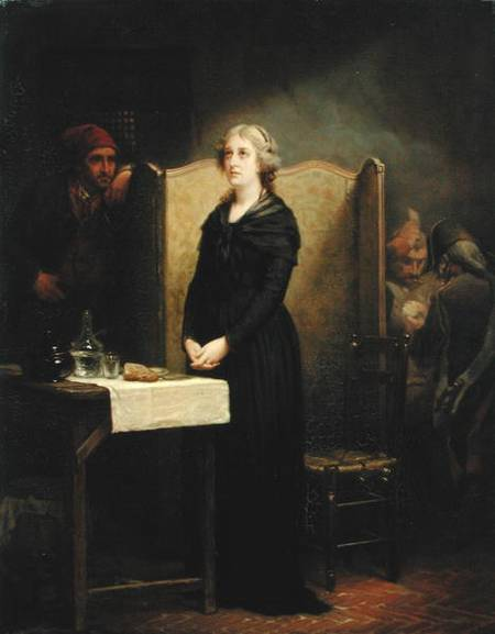La Conciergerie : Marie-Antoinette dans sa cellule. Ma_con10