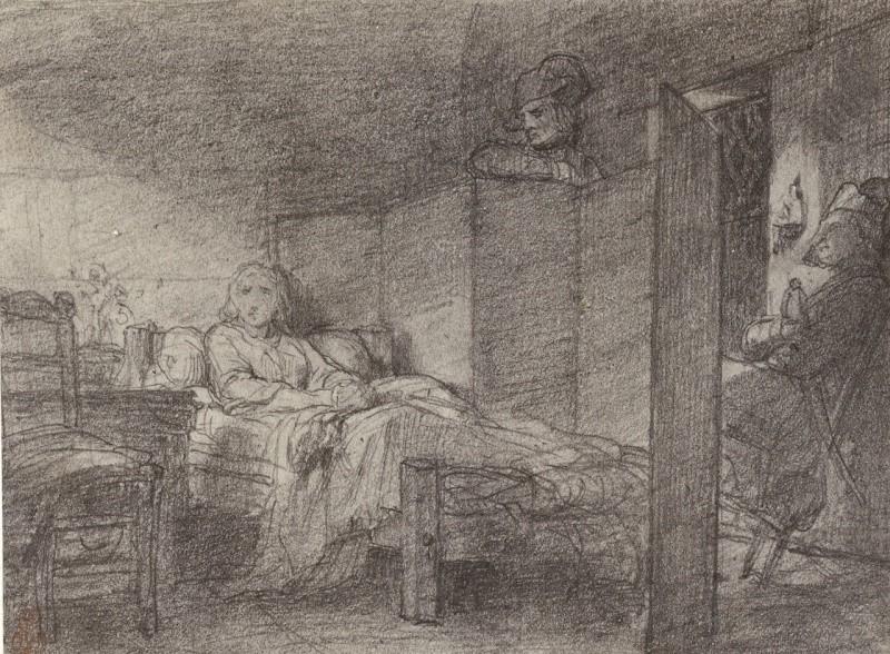 La Conciergerie : Marie-Antoinette dans sa cellule. Ma_con11
