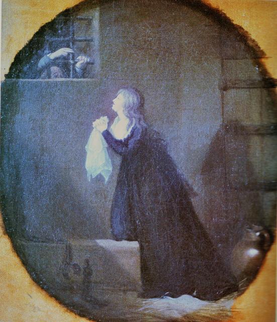 Confession de la Reine avec l'abbé Magnin. Mabndi10