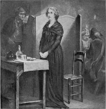 La Conciergerie : Marie-Antoinette dans sa cellule. Marie-16