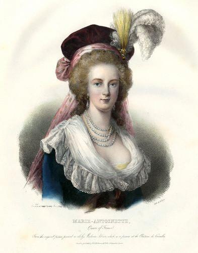 Le plus moche portrait de Marie-Antoinette Mw150510