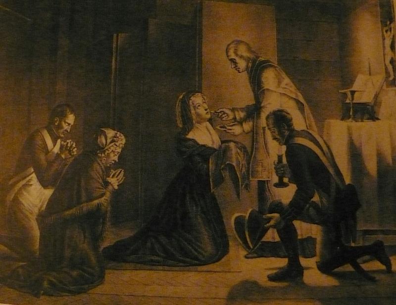 Confession de la Reine avec l'abbé Magnin. P1010420
