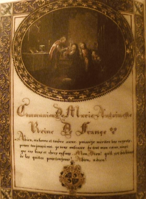 Confession de la Reine avec l'abbé Magnin. P1010421