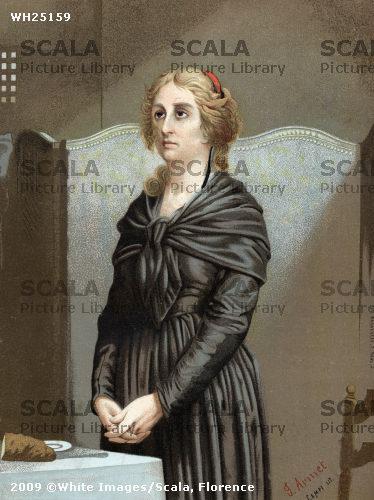 La Conciergerie : Marie-Antoinette dans sa cellule. Wh251510