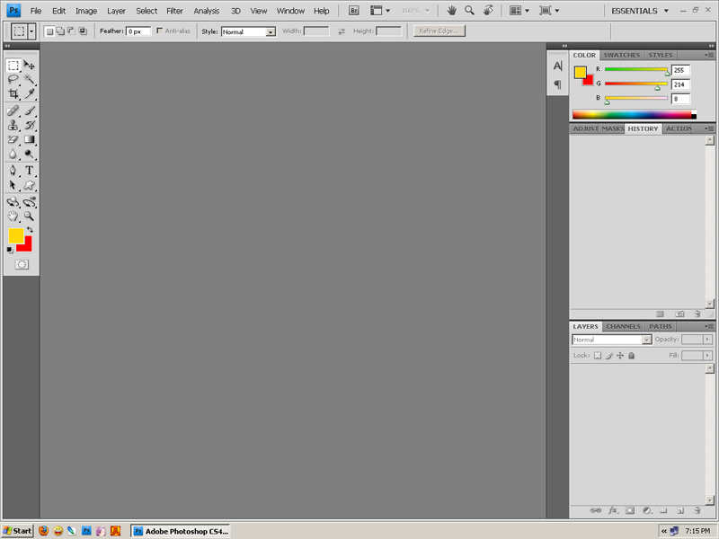 [My] New Adobe Photoshop CS4 Extended Untitl13