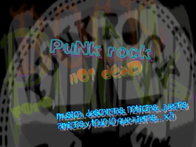 ·//*Punk Rock Not Dead*\\·