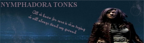 Who is your favorite character? Tonks210