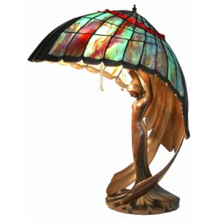 Table Lamp Flying Lady - Peter Behrens - Reproductions A3-23910