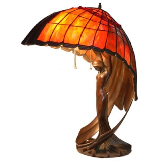 Table Lamp Flying Lady - Peter Behrens - Reproductions A3-23911