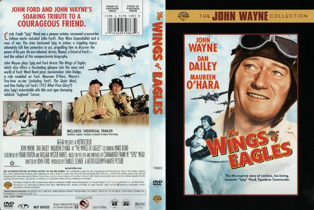 L'Aigle Vole au Soleil  - The Wings of Eagles - 1957 Wings_10