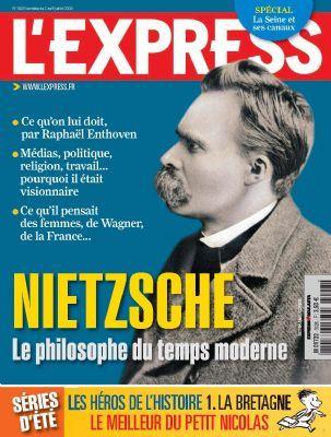 Nietzsche à la une de l'Express 22610