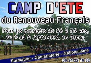 Camp d' Eté 2009 du Renouveau Français Udt10