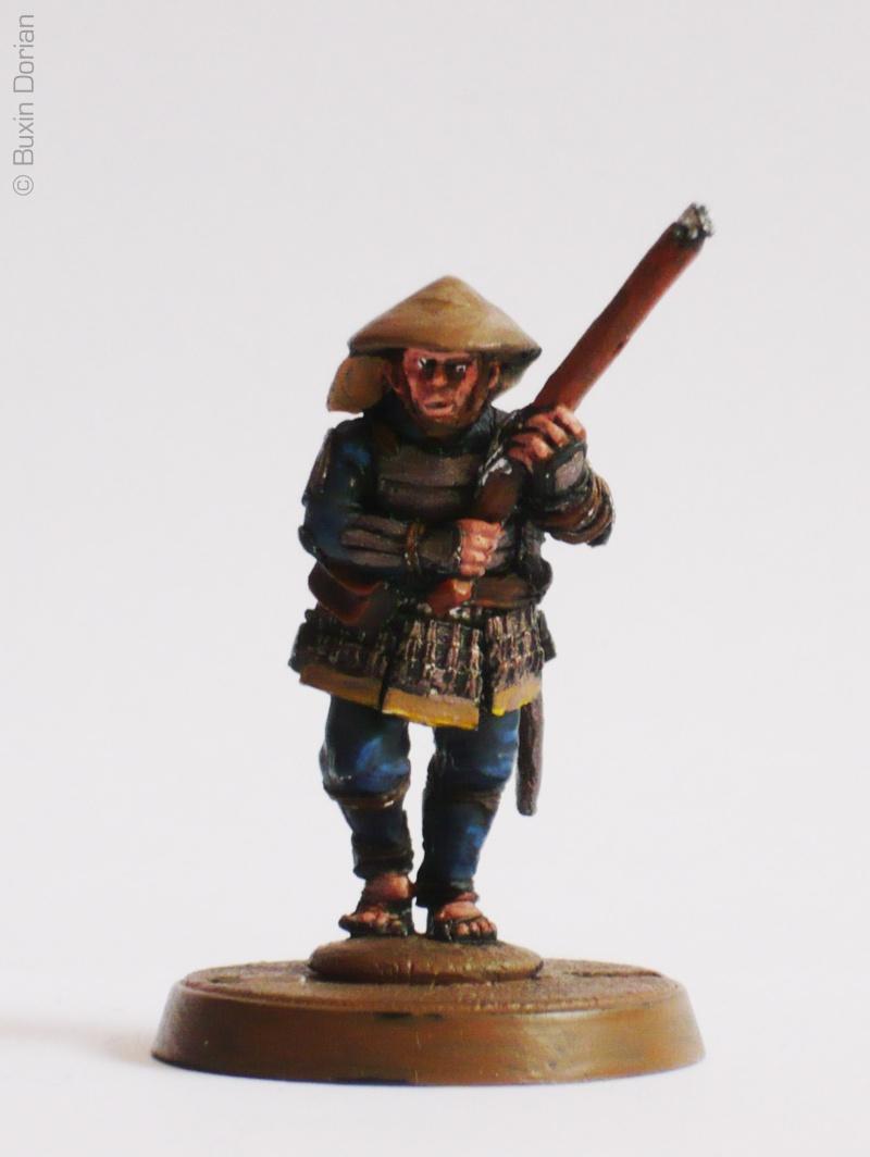 Samurai Perry Miniatures 28mm !!! Teppo-10