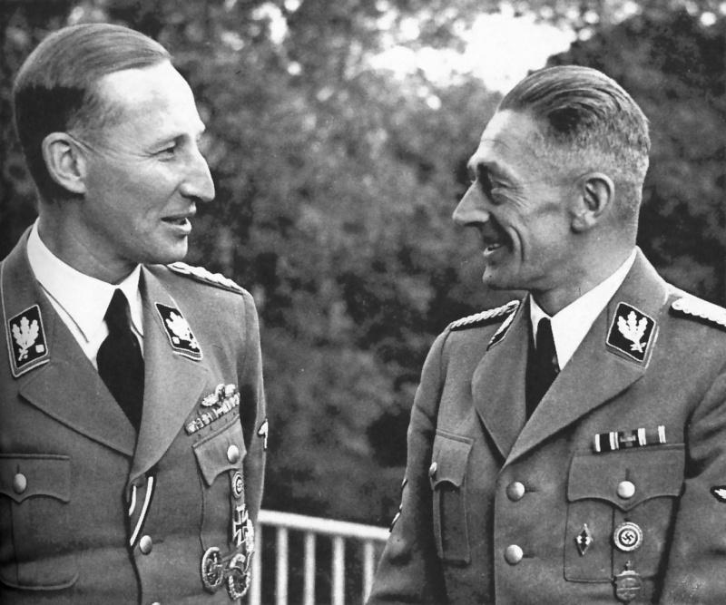 Reichsprotektor : Nomination de Reinhard Heydrich à Prague Rhkhf10