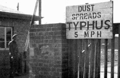Libération du KZ Belsen : une affaire embrouillée… Typhus10