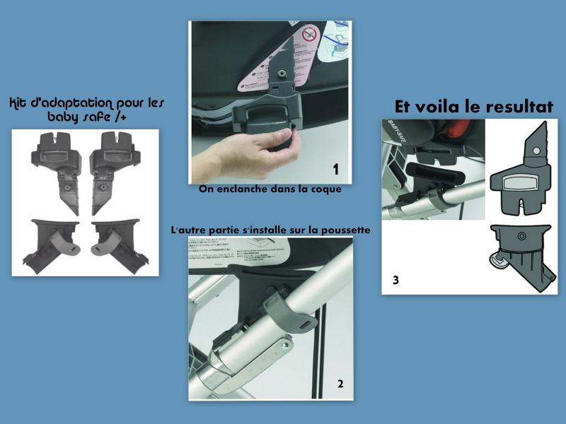 Compatibilité Nacelle Britax / Römer (4 étoiles crash test) Adapta11