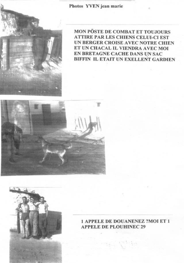 Photos et temoignages de Jean Marie YVEN Numari17