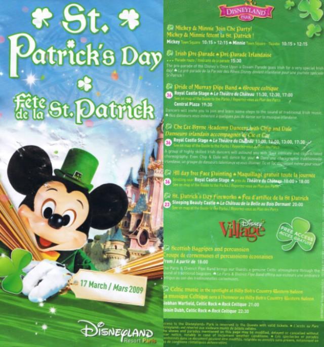 Saint Patrick's Day à Disneyland® Paris (17 mars 2016 et 2017) - Page 3 Plan_610