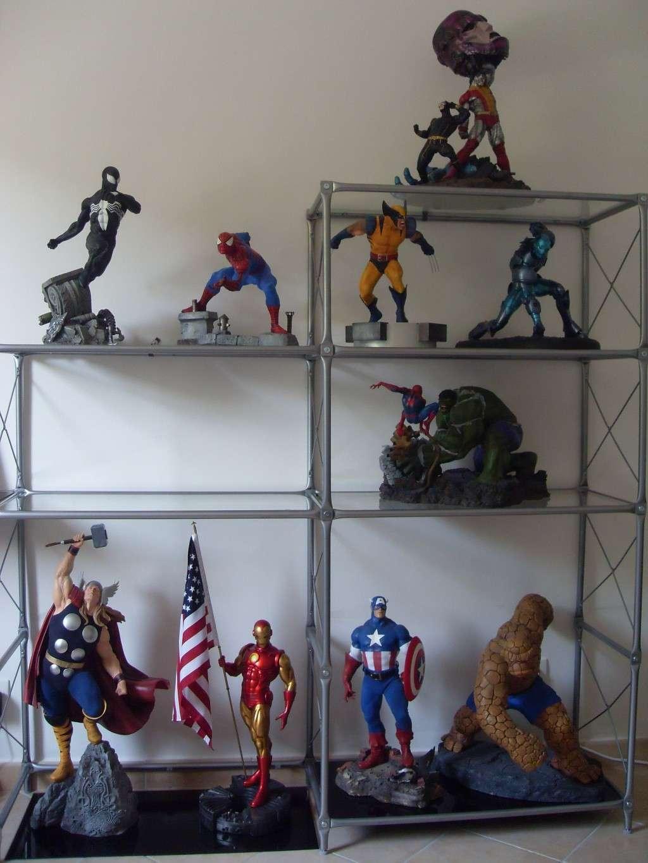 """Collection de Spider-Manu """" dernière arrivée HULK 1/4  """" Q_03810"""