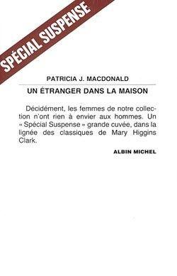 UN ETRANGER DANS LA MAISON de Patricia MacDonald 9136910