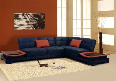 Qelle couleur avec un canapé bleu dur, Coul10