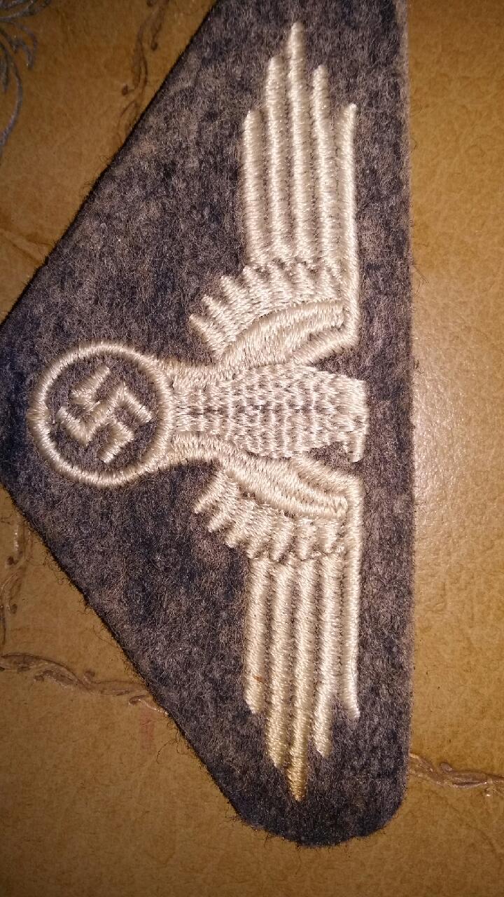 Insigne allemand tissu 681cea10