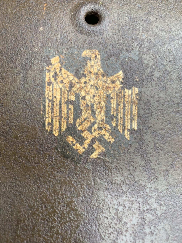 Casque m42 un insigne  C0a25e10