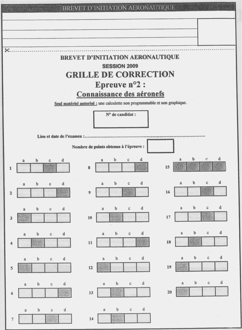 Sujets et corrigés  BIA 2009 - Page 5 Conn12