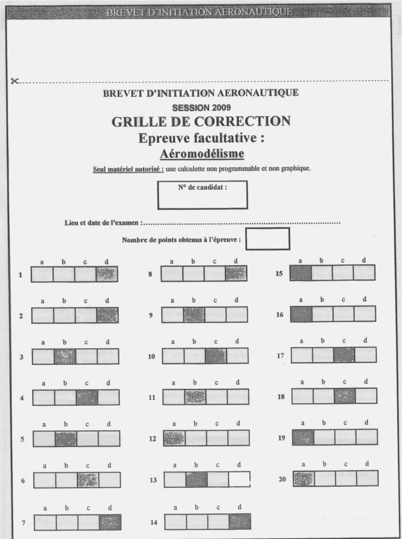 Sujets et corrigés  BIA 2009 - Page 5 Fac11