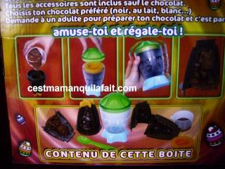 KIT CHOCOLATS DE PAQUES LECLERC 7,62 EUROS 3 MOULES 1010