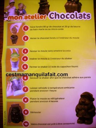 KIT CHOCOLATS DE PAQUES LECLERC 7,62 EUROS 3 MOULES 110