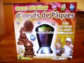 KIT CHOCOLATS DE PAQUES LECLERC 7,62 EUROS 3 MOULES 1310