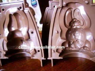 KIT CHOCOLATS DE PAQUES LECLERC 7,62 EUROS 3 MOULES 710