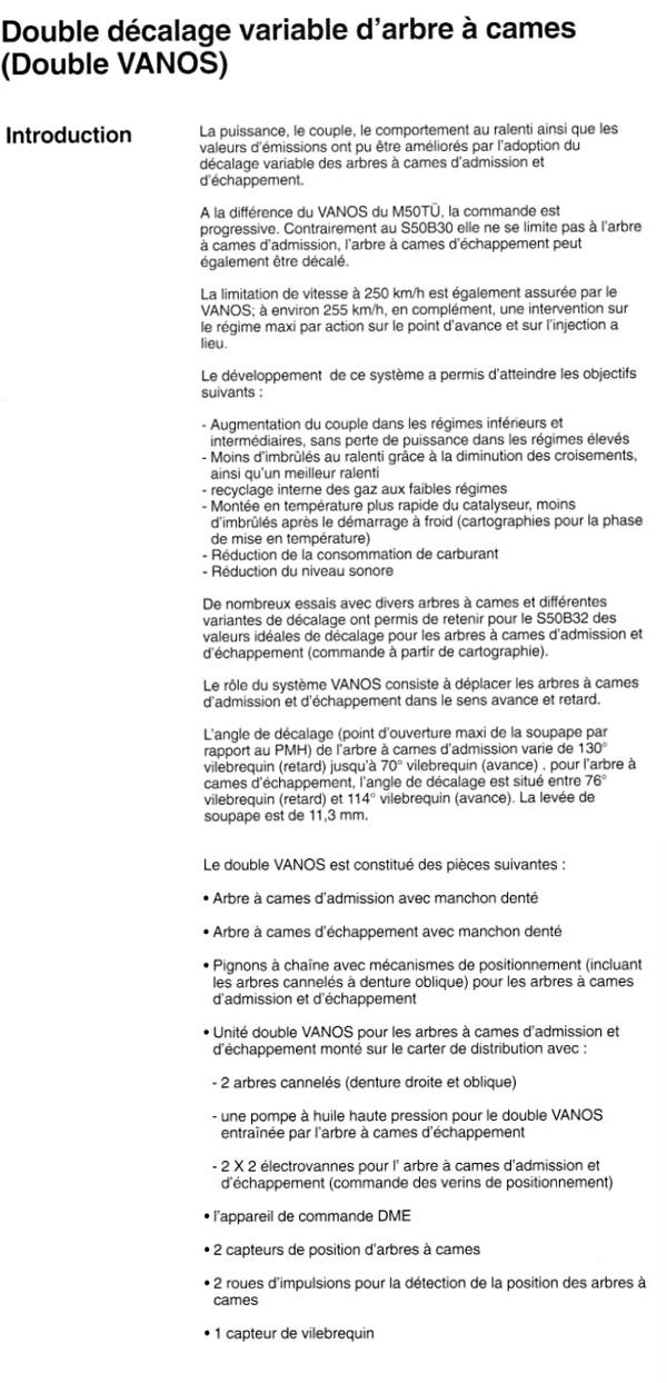 Définition du VANOS - Page 2 Vanos110