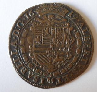 Jeton Alberto e Isabel ceca Amberes 1619 P7140511