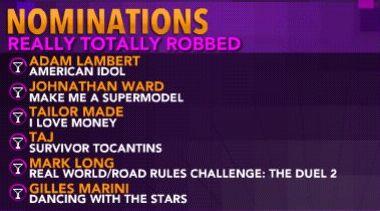 Really Awards 2009 - Oct 17th 9210