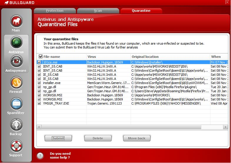Infected - By Yahoo Messenger - Not Even in a Conversation. Virus10