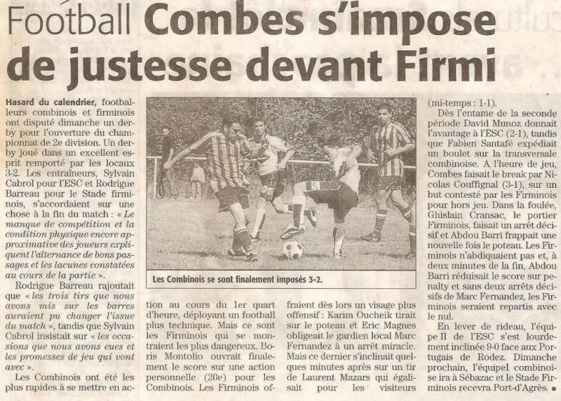 Articles de Midi-Libre Saison 2008-2009 2008_s13