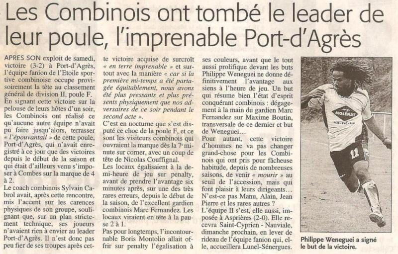 Articles de Midi-Libre Saison 2008-2009 2009_a17