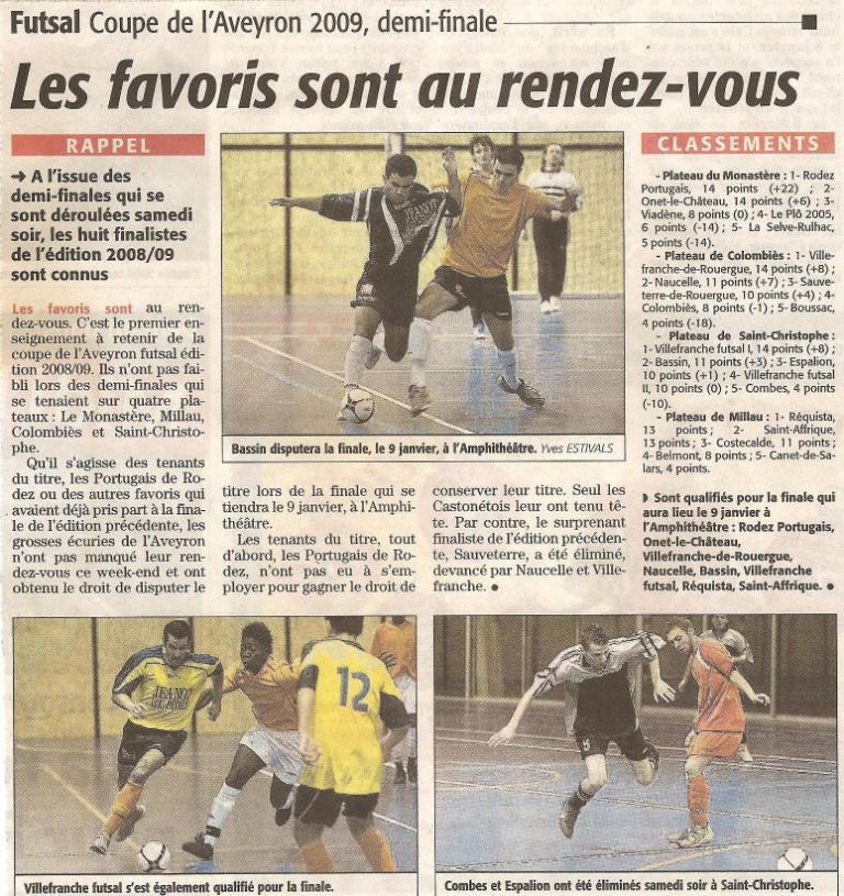 Articles de Midi-Libre Saison 2008-2009 2009_d11