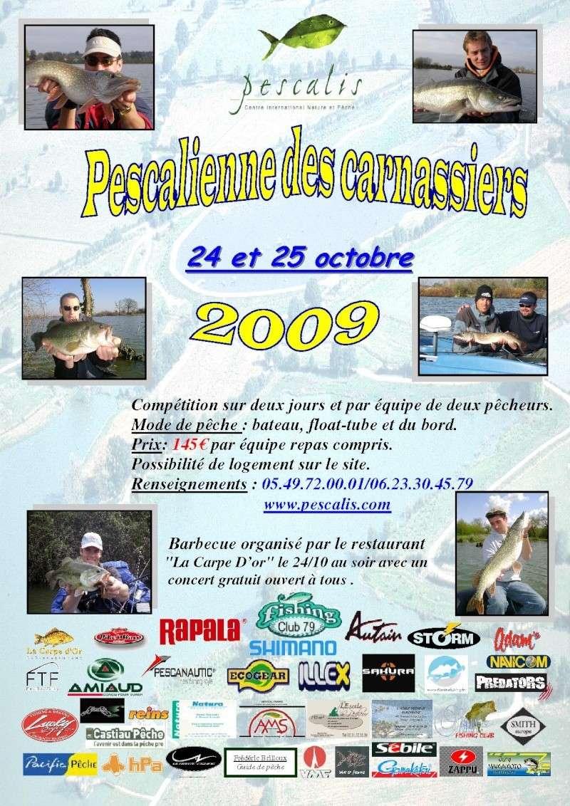 Open carnassier de Pescalis 24\25 octobre 2009 Affich13