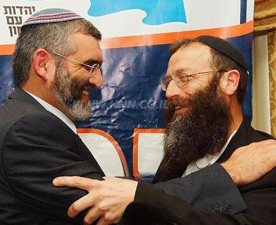 ИХУД ЛЕУМИ - партия за выживание Израиля Michae10