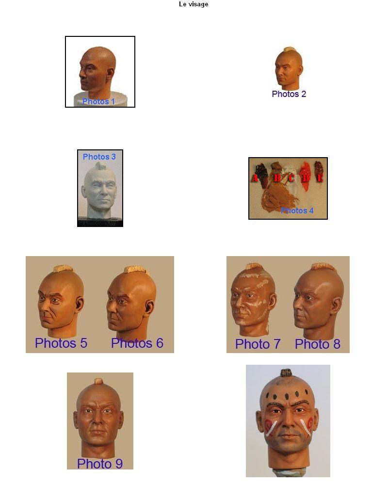 La peinture d'un visage à l'huile Planch11