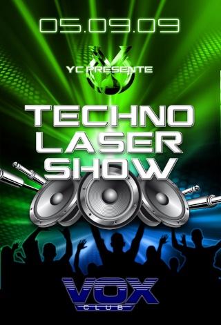 TECHNO LASER SHOW - 05/09/09 - VOX Club 14 Recto_14